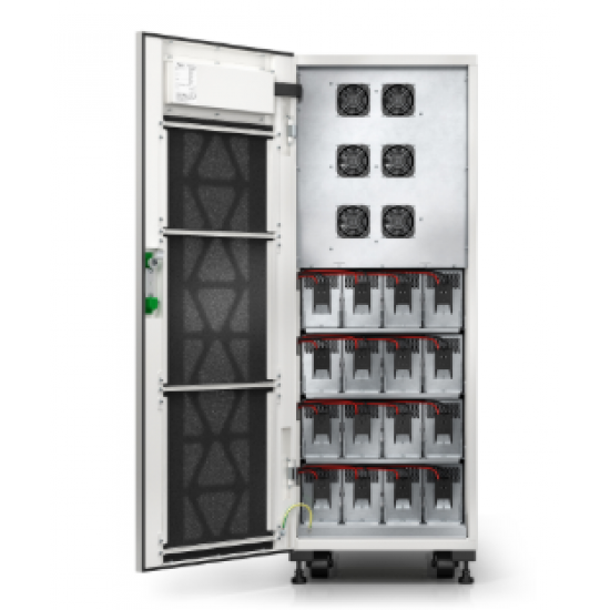 APC Schneider Easy UPS 3S 40 kVA 400 V 3:3 UPS with internal batteries - 10 minutes runtime E3SUPS40KHB1