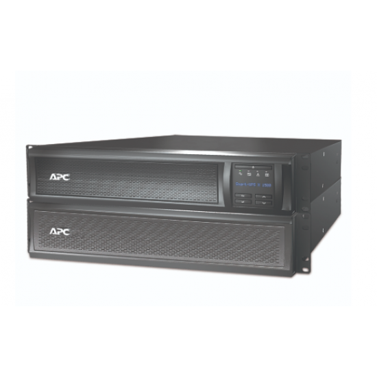 APC Smart-UPS X 1500VA Rack/Tower LCD 230V with Network Card SMX1500RMI2UNC