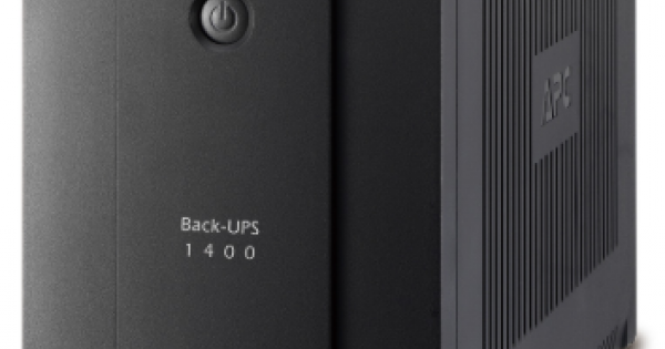 APC BACK-UPS 1400VA WITH AVR  IEC BX1400UI