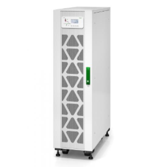 APC Schneider Easy UPS 3S 10 kVA 400 V 3:3 UPS with internal batteries - 15 minutes runtime E3SUPS10KHB1