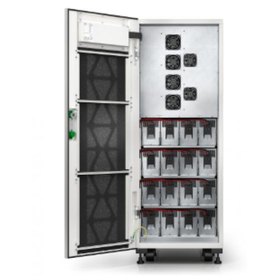 APC Schneider Easy UPS 3S 30 kVA 400 V 3:3 UPS with internal batteries - 9 minutes runtime E3SUPS30KHB1
