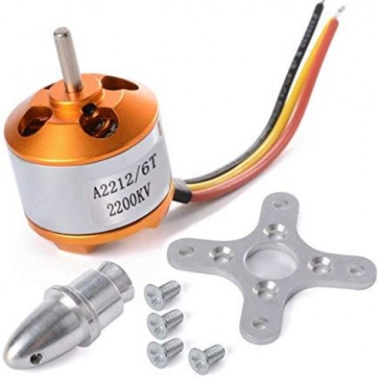 Brushless Motor WST A2212 / 6T 2200KV  Outrunner Motor for DJI F330 F450 F550 RC Airplane Helicopter Multicopter Quadcopter