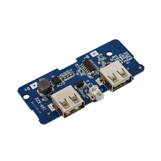 Dual USB 18650 Battery Power Bank Charger Controller Module
