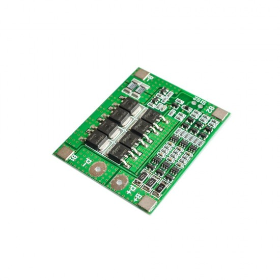 3 string 12V 18650 lithium battery protection board 11.1V 12.6V with equalization 25A over-current over-charge protection