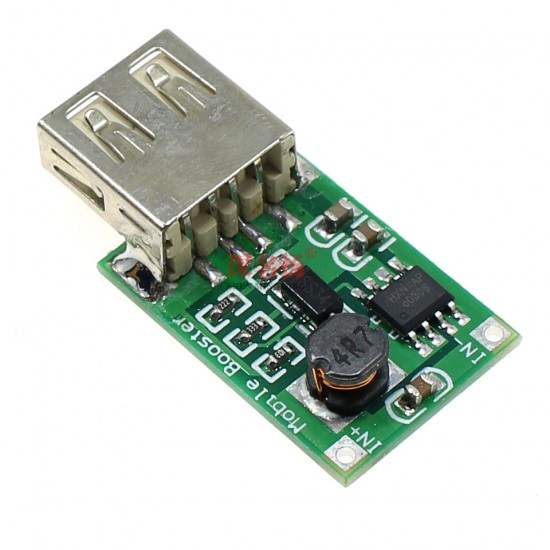 DC-DC (2.0~5V) to 5V boost module 1.2A current 1200ma with USB female socket