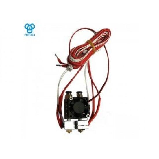 3D Printer Metal J-Head E3D V5 / V6 Double Remote Nozzle Extruder