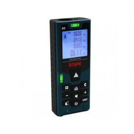 DTAPE D3 Digital Laser Distance Meter 40M Range Finder Tape Laser Distance Meter