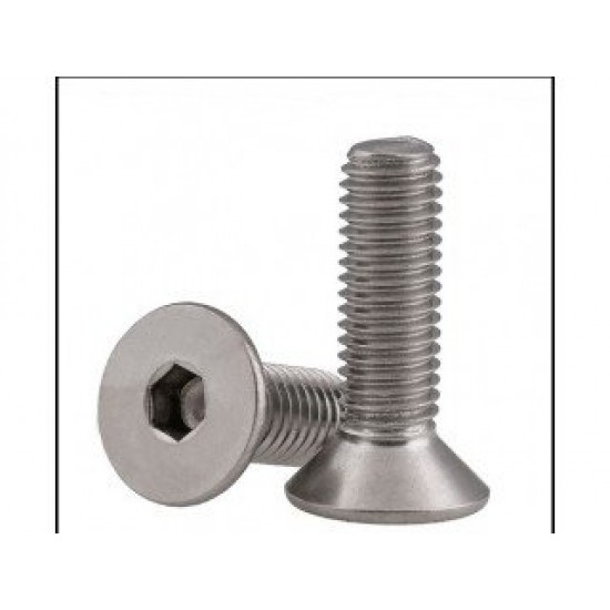 Flat Head Screw M6x8 Thread