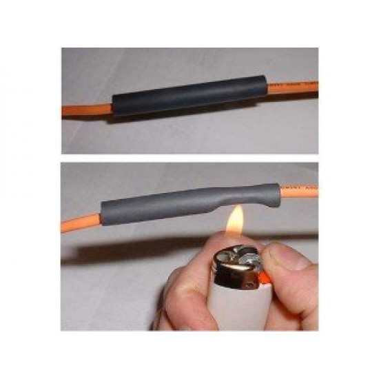 """Heat shrink tubing cables """" shrinkable tube"""" 2mm x 1M"""