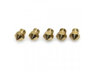 3D Printer Extrusion Brass Nozzle MK10 M7 (0.2mm) for 1.75 Filament