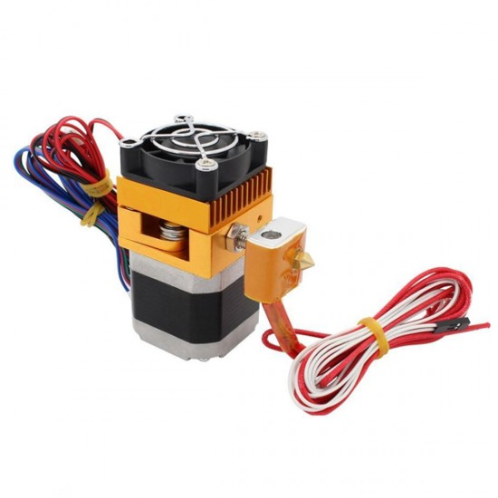 3D Printer MK8 Complete Extruder Kit with J-head HotEnd Filament 1.75mm  Nozzle 0.4mm