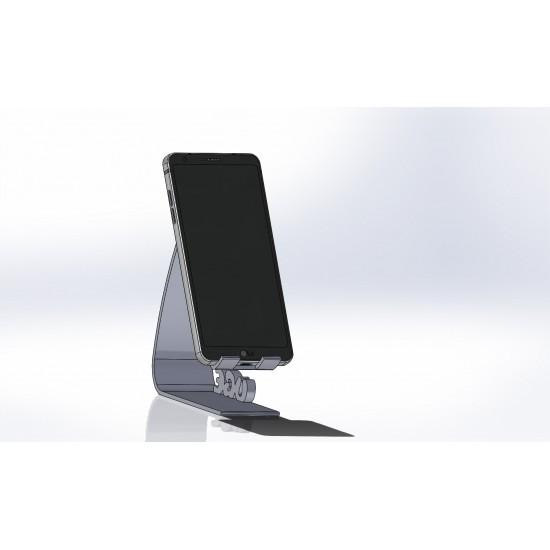 3D Printed Mobile Holder - Modern Flexible Design