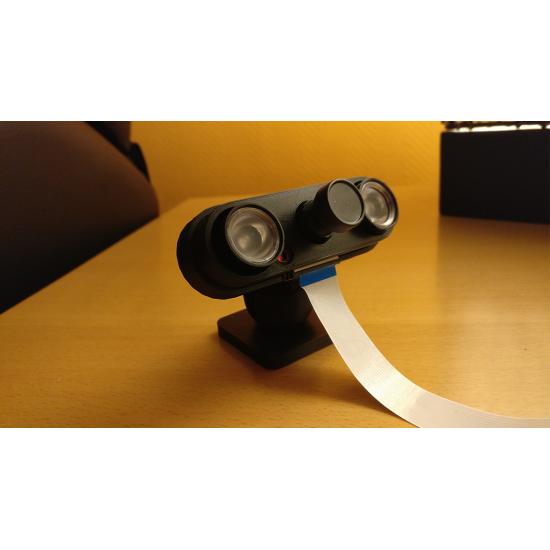Enhanced 3D Printed rpi ir-cut camera case
