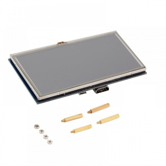 """Raspberry Pi 5"""" TFT Touch Screen display"""