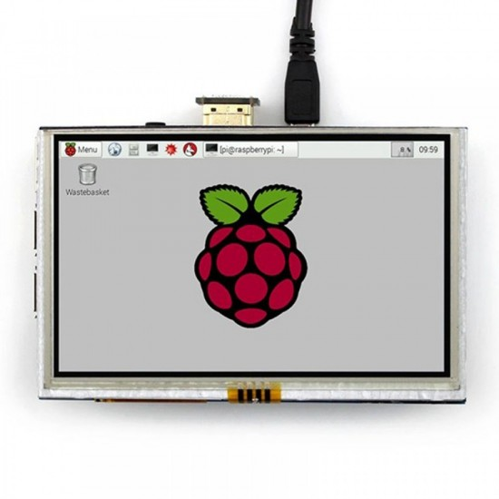 "Raspberry Pi 5"" TFT Touch Screen display"