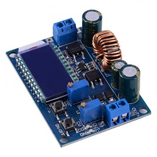 4A 30V Adjustable Step Up Step Down Power Supply Module Boost Buck Converter LCD Display Voltage Regulator