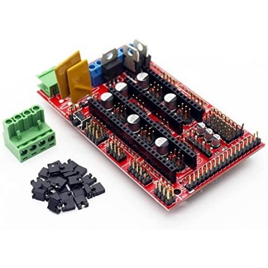 3D Printer RAMPS 1.4 Arduino Mega Shield for a RepRap