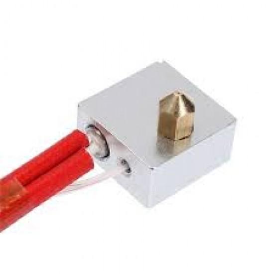 MK8 Heating Aluminum Block For 3D Printer