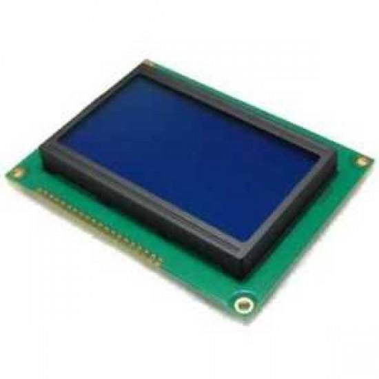GLCD DISPLAY 128x64 Blue 5V | GLCD12864-B3