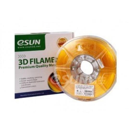 eSUN 3D Filament PLA 1.75mm - Glass Orange Color