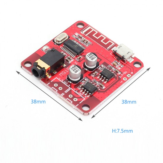 Audio Bluetooth 4.2 Decoder Board MP3 lossless car speaker amplifier  XY - BT5W