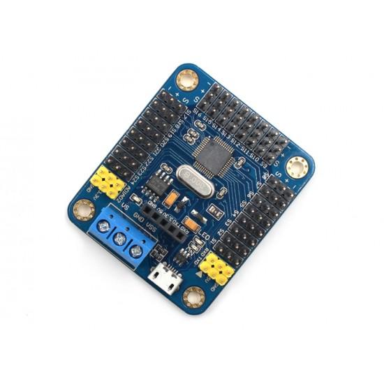 24 Channel PWM Servo Motor Driver Controller Board Module for Arduino
