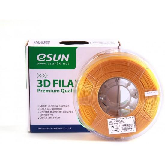eSUN 3D PLA plus 1.75mm - Gold Color
