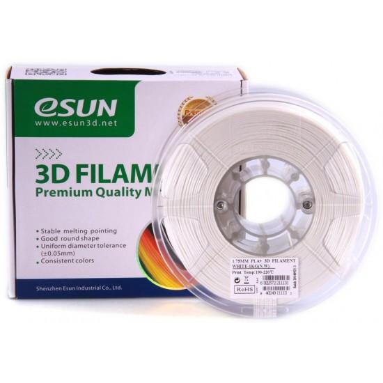 eSUN 3D PLA plus 1.75mm - White Color