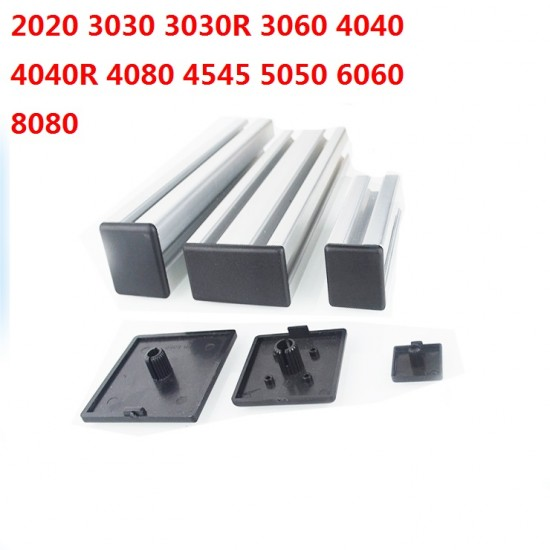 2040 Aluminum Profile End Cap plastic cover plate