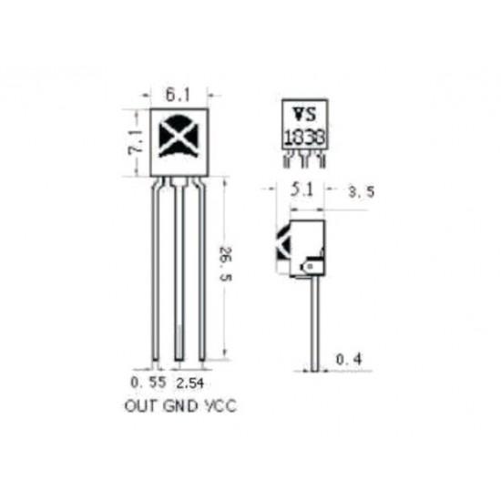 38 khz Universal Infrared Receiver