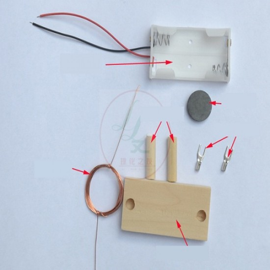 DIY Educational DC Motor