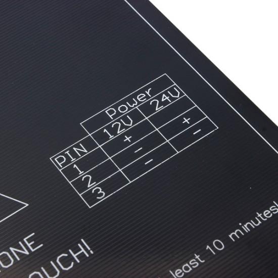 3D Printer 3MM MK3 Aluminum HeatBed