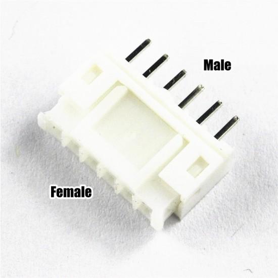 PH 6-Pin Mini Connector PH2.0-6P (2.0mm) for Nema 17 stepper Motor