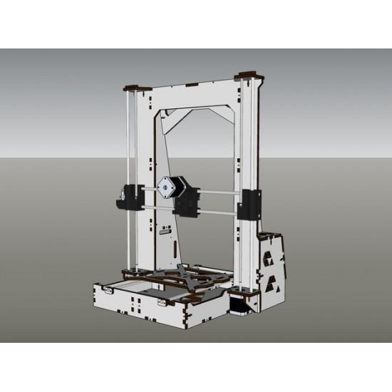 3D Printer Reprap Mendel Prusa I3 Large Frame Laser Cut 6mm PlyWood DIY KIT
