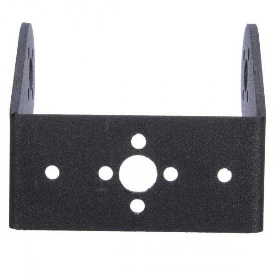 Robotic ARM Steering Gear Servo Oblique U Bracket Metal Holder