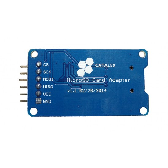 Arduino Micro SD Card SPI Module