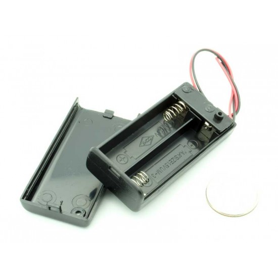 Battery Holder 2XAA with ON/OFF button