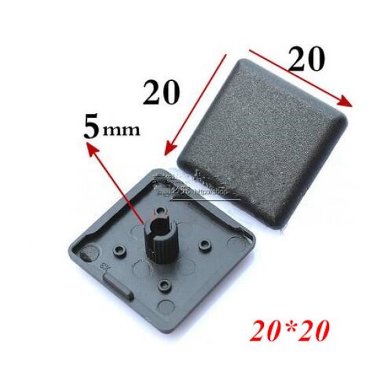 2020 Aluminum Profile End Cap plastic cover plate