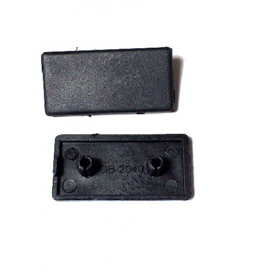 2040 Aluminum Profile End Cap plastic cover plate