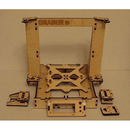 3D Printer Reprap Mendel Graber I3 Frame Laser Cut 6mm PlyWood DIY KIT
