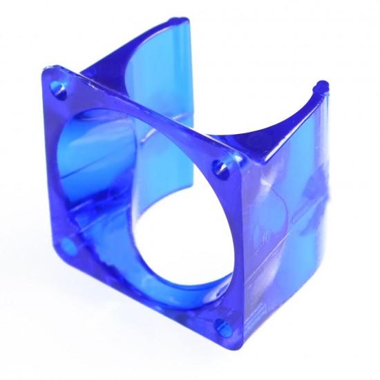 3D Printer J-Head Fan Plastic Housing Frame for V5 / V6 injection molding radiator fan cover