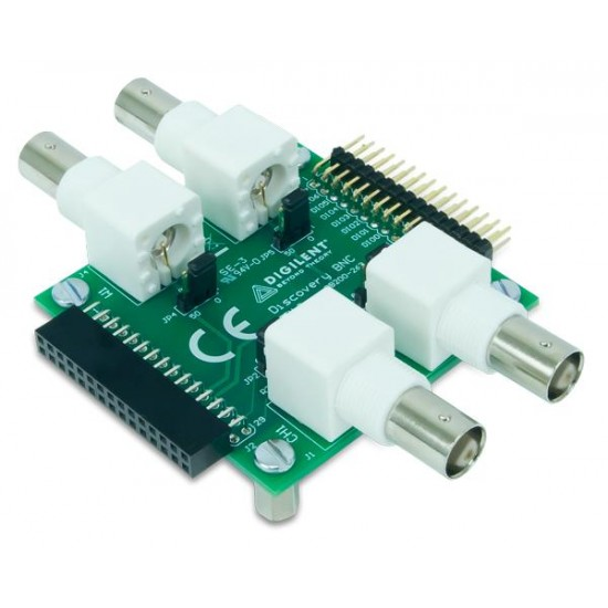 Analog Discovery webs supporting -BNC Adapter Board Connector