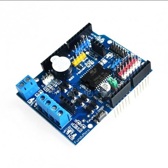 Arduino L298P Motor Shield