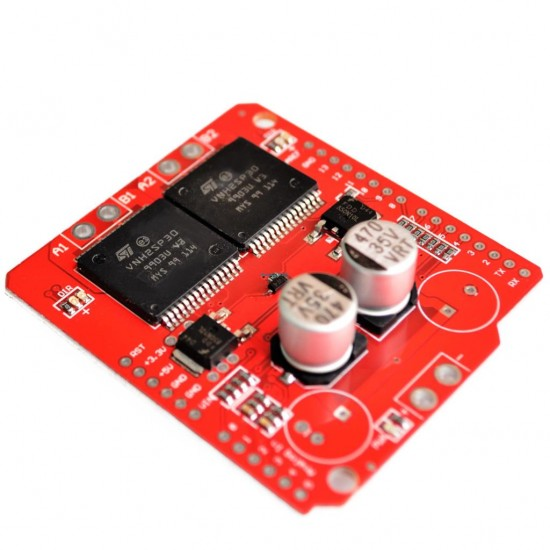 Arduino VNH2SP30 Monster Dual 30A Motor Shield