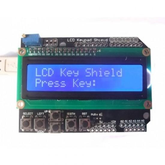Arduino LCD1602 Keypad Shield