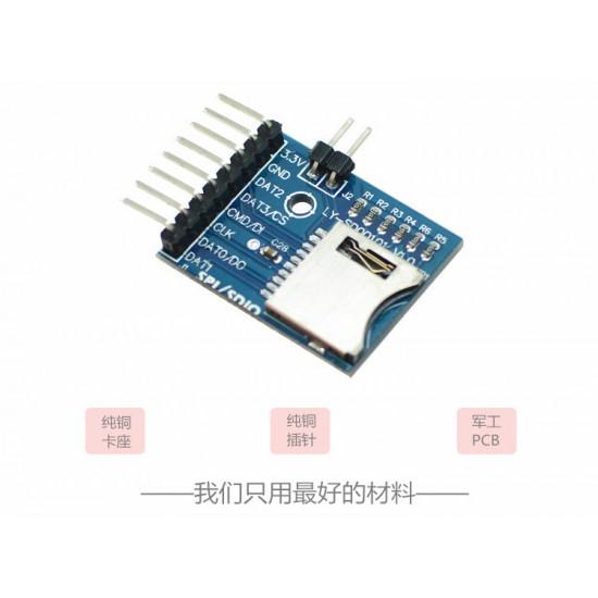 Arduino ,ARM Micro SD Card With SDIO Interface Module