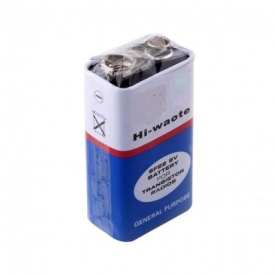 9V Non Chargeable Battery