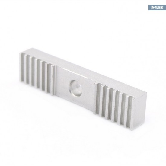 3D printer Reprap aluminum GT2 belt holder clamp