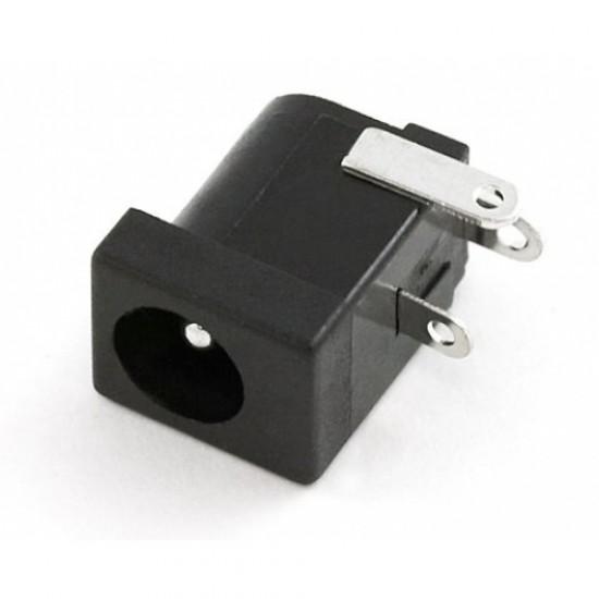 DC barrel jack PCB Mount 2.1mm
