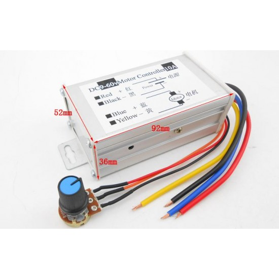 PWM DC motor speed controller Driver 10A